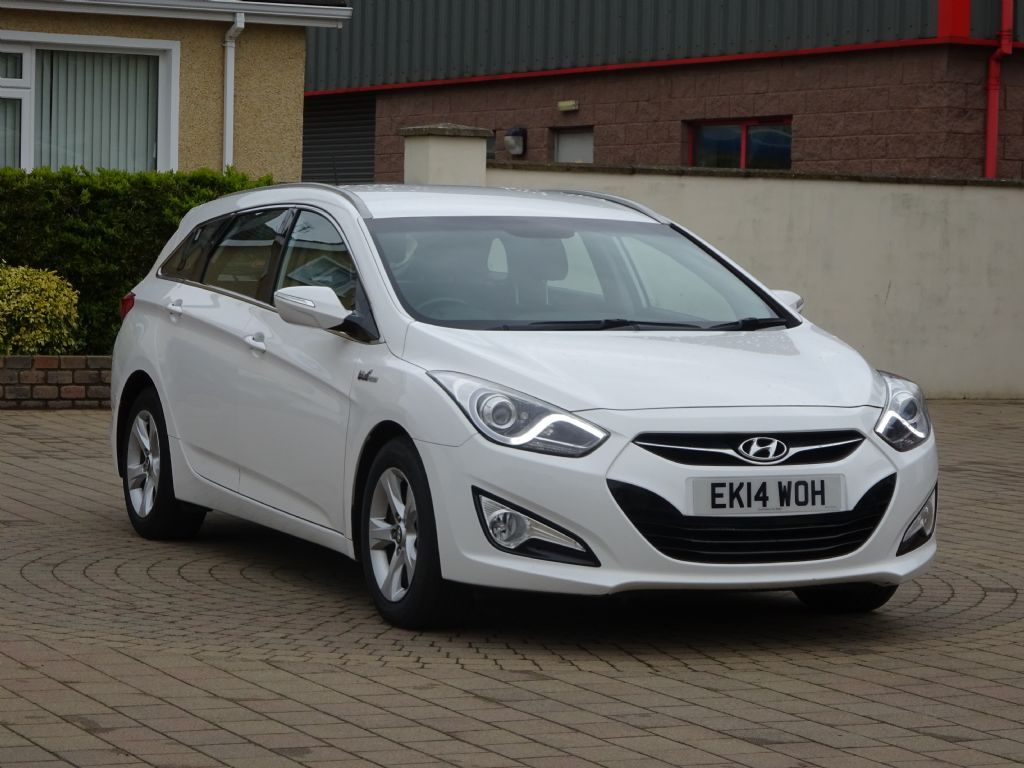 Hyundai I40 1.7 Crdi [136] Active Blue Drive, Alloys, £30  road tax