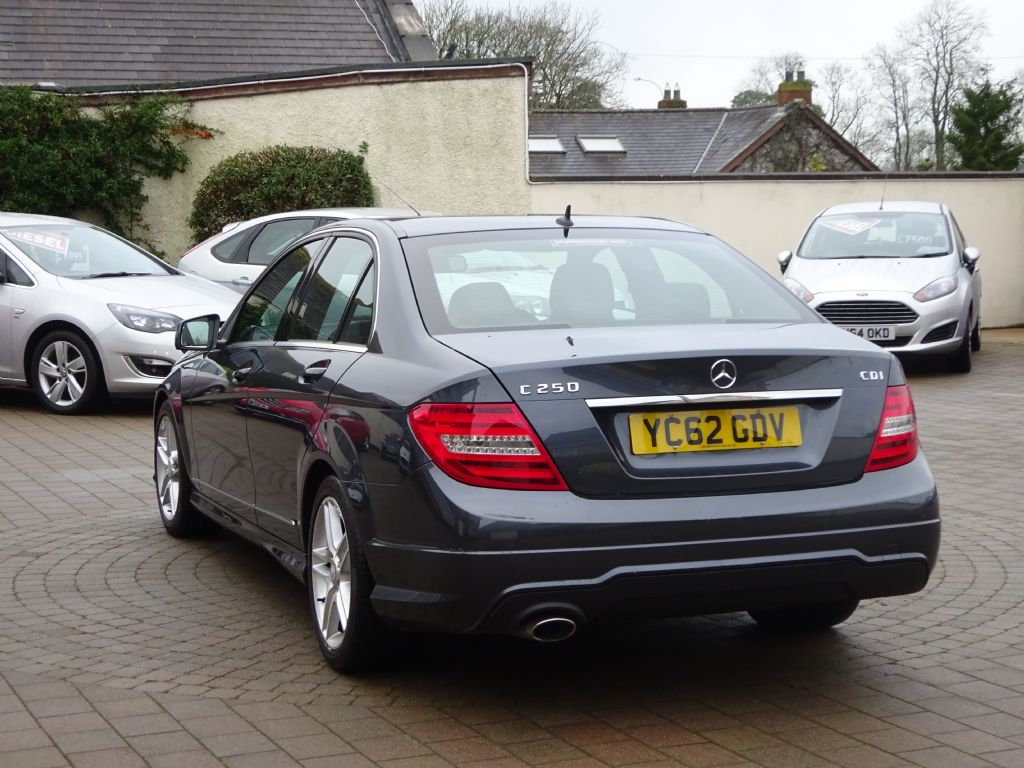 Mercedes C AMG Sport Blueefficency Sat Nav Heated Sports - Sports cars ni