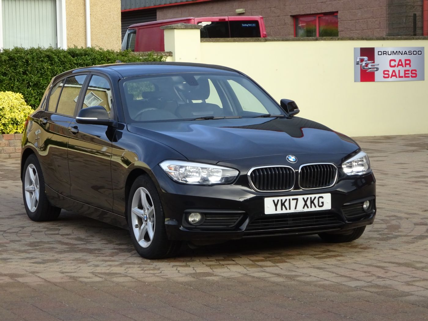 BMW 116D ED Plus, Rear parking sensors, Sat nav, Zero road tax