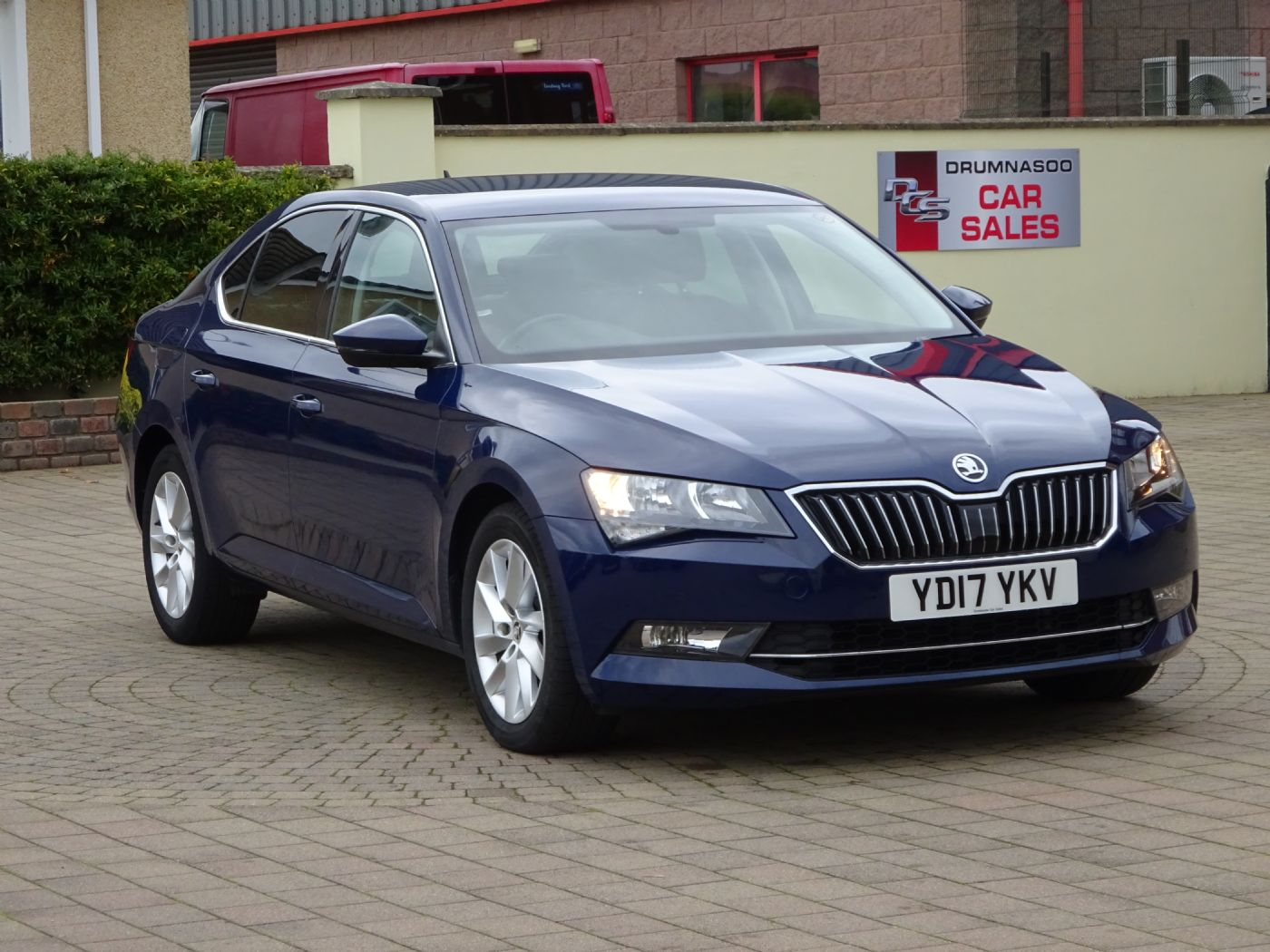Skoda Superb SE Business 1.6 TDI, Leather seats, Sat nav