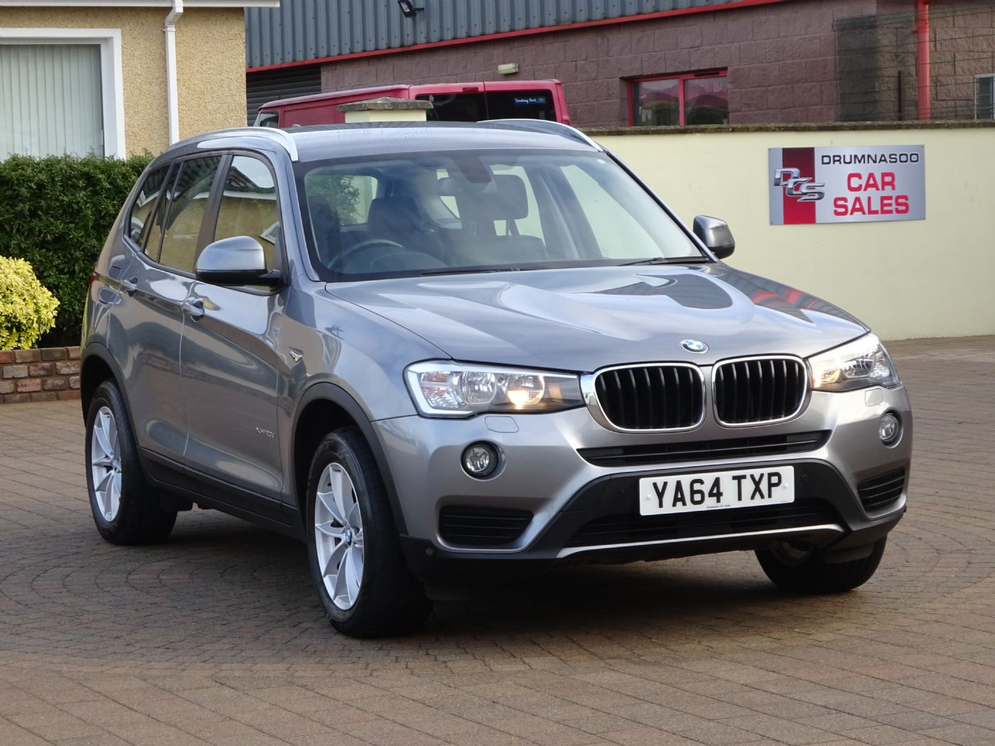 BMW X3 Xdrive 20D SE Auto, Heated leather seats, Sat nav