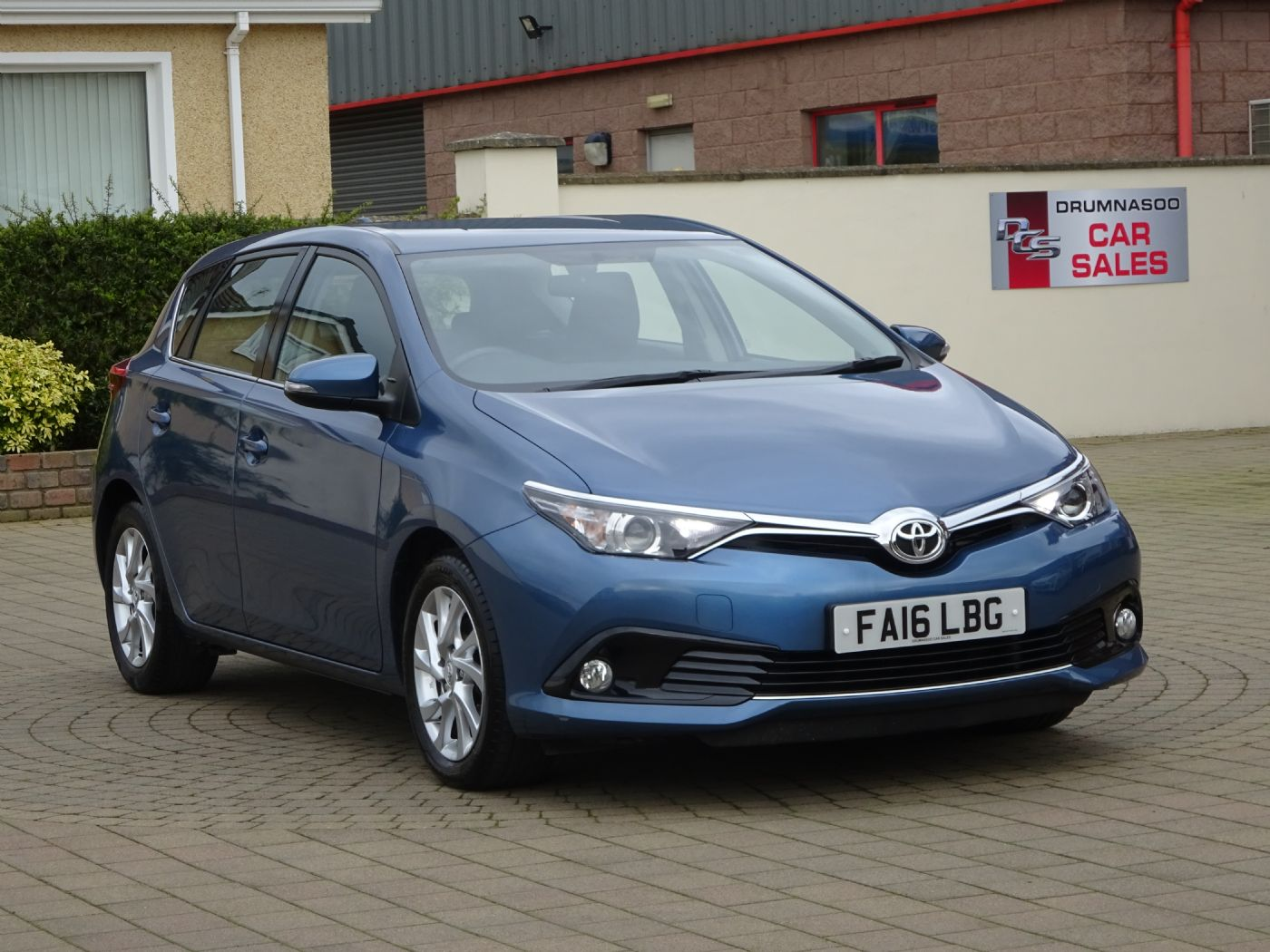 Toyota Auris Icon 1.6  D-4D 5Dr, Rear parking camera, £20 Road tax