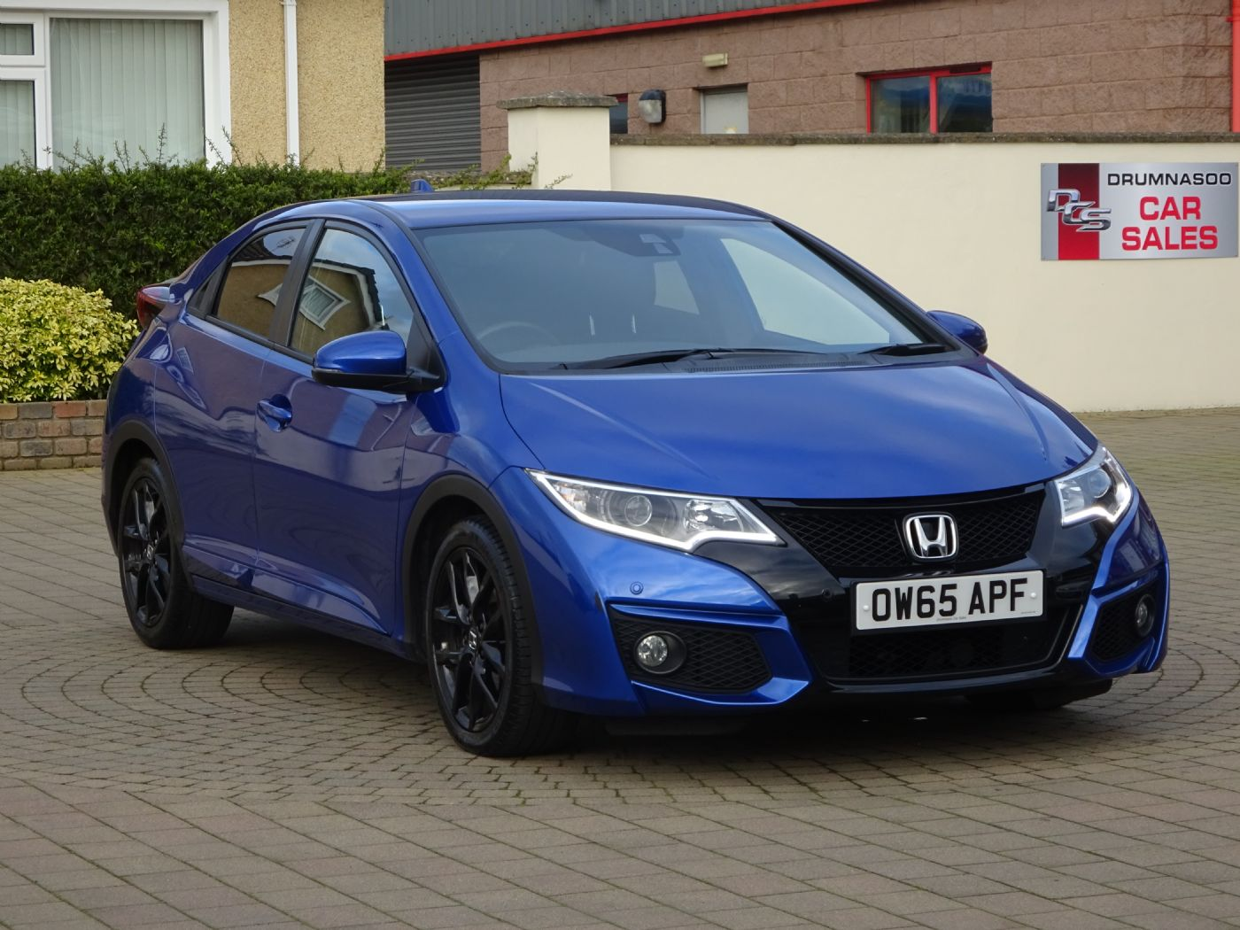 Honda Civic 1.6 I-Dtec Sport, Rear parking camera, Zero road tax