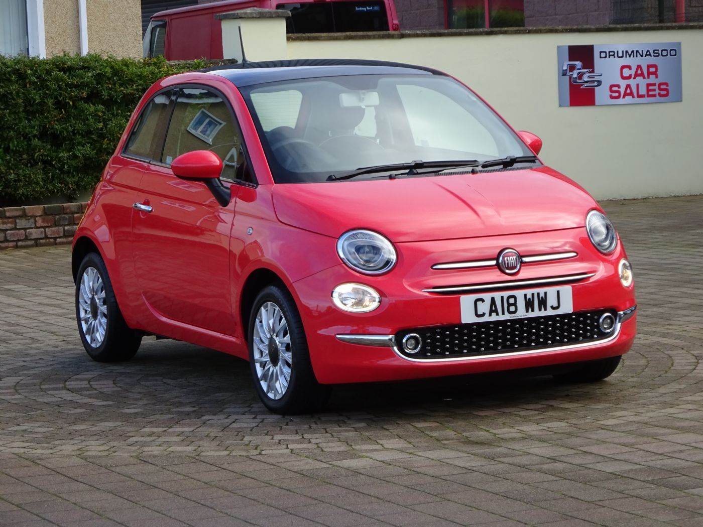 Fiat 500 Lounge 1.2, Panoramic glass roof